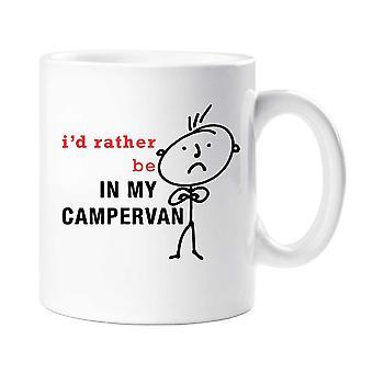 Men's I'd rather Be In My Campervan Mug