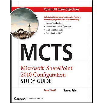 دليل MCTS Microsoft SharePoint 2010 تكوين الدراسة-امتحان 70-667