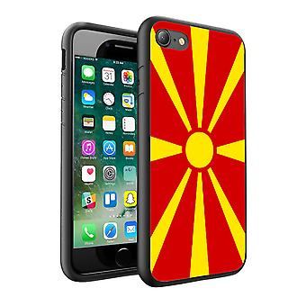 For Sony Xperia Z3 Compact - Macedonia Flag Design Printed Black Case Skin Cover - 0102 by i-Tronixs