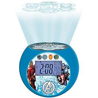 Lexibook Radio Reveil Projecteur Avengers (modèle No. RL975AV)
