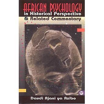 Afryki psychologii w perspektywie historycznej oraz związanym z komentarzem