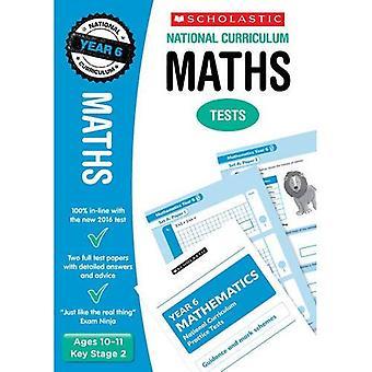 Matematik Test - år 6 (läroplanen tester)