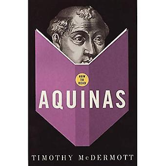 Come leggere d'Aquino (How to Read)
