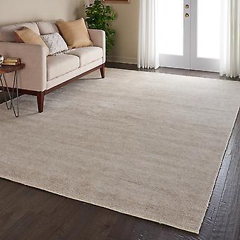 Weston WES01 linne rektangel mattor Plain/nästan slätt mattor