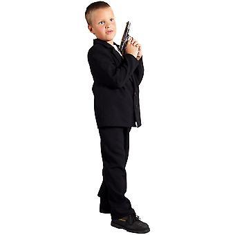 Kinderen kostuums kinderen bodyguard