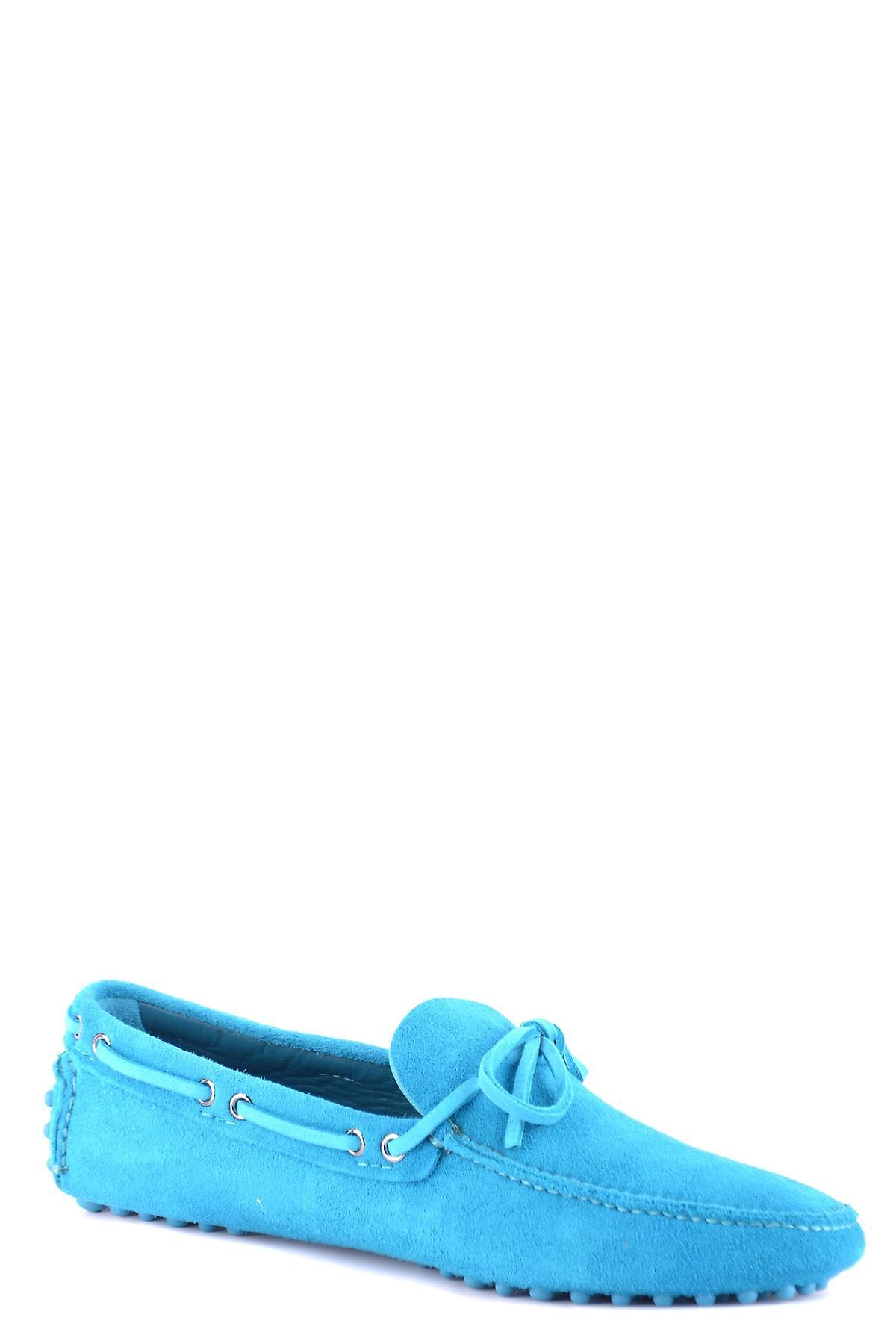 Chaussures de voiture Ezbc029014 Men-apos;s Light Blue Suede Loafers
