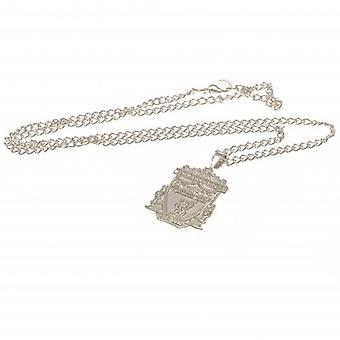 Liverpool Silver Plated Pendant & Chain XL