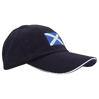 ProClimate Mens Scotland Navy Embroidered Baseball Cap