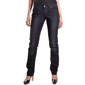John Galliano Ezbc164041 Women's Black Denim Jeans