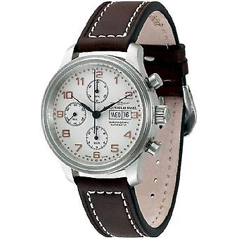 Zeno-watch montre NC retro chronographe-date 9557TVDD-f2