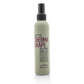 Kms California Therma Shape Hot Flex Spray (heat-activated Shaping And Hold) - 200ml/6.7oz