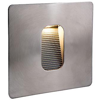Firstlight - LED 1 Light Outdoor Wall Light & Step Light Stainless Steel IP65 - 3420ST