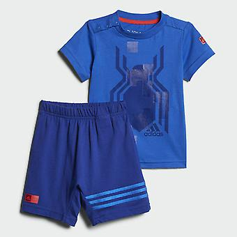 Adidas Marvel Spider-Man Summer Set Infant T-Shirt & Short