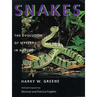 Cobras - a evolução do mistério na natureza por Harry W. Greene - Micha