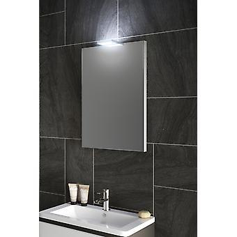 Espejo de luz superior segre Audio con sensor y afeitador Socket k488aud