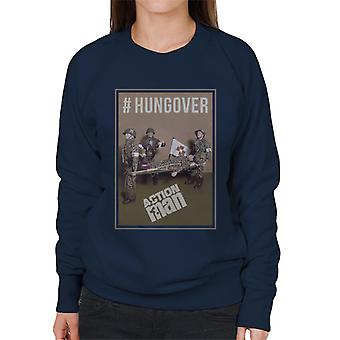 Action Mann Hungover Frauen's Sweatshirt