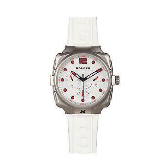 Holler Impact White Chrono Watch HLW7657-A1