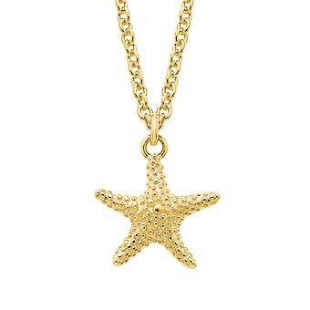 s.Oliver Jewel womens necklace silver gold starfish 2026123