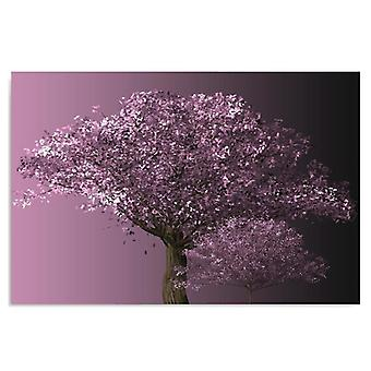 Canvas, Picture on canvas, Purple Tree