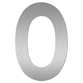 Nathan house number MIDI 0 stainless steel 64470-072