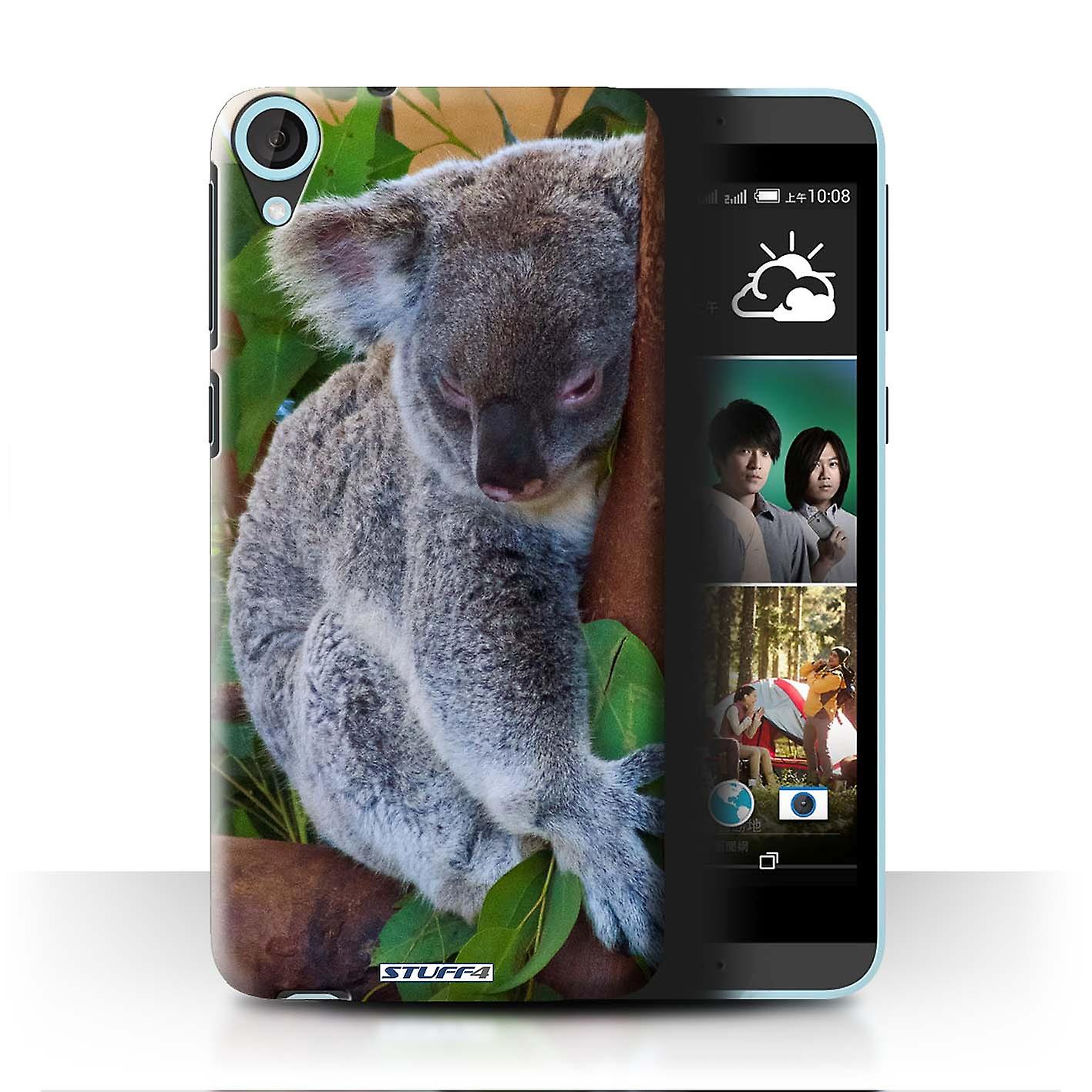 STUFF4 Case/Cover for HTC Desire 820q Dual/Koala Bear/Wildlife Animals