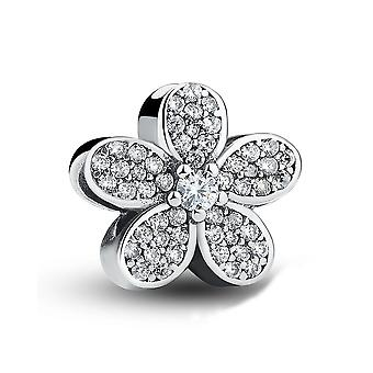 Sterling silver charm Dazzling daisy