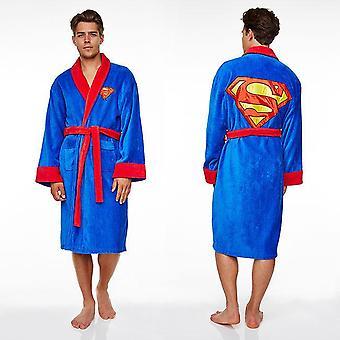 Mens Superman dressing toga/badjas