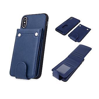 Samsung Galaxy S9 - Pocket Case Bagcover - Navy blå