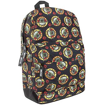 Rock Sax Guns N Roses All Over Print Backpack