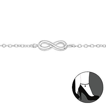 Infinity-925 Sterling Silver anklets-W27906X