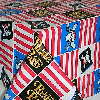Amscan Plastic Tablecover - Pirate Party