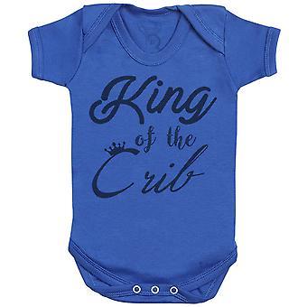 Koning van de wieg Baby Romper-baby cadeau