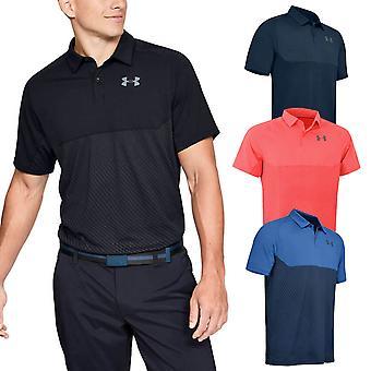 Under Armour Herren Tour Tipps blockiert Stretch Wicking atmungsaktive Polo Shirt