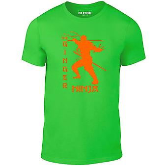 Men's Ingwer Ninja T-shirt.
