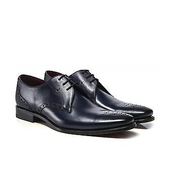 Loake lederen semi-Brogue Hannibal schoenen