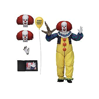 Pennywise Ultimate Edition Version 2 Poseable Figure from It 1990