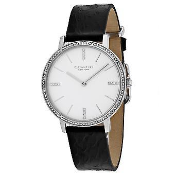 Coach Women's White Dial Watch - 14503349