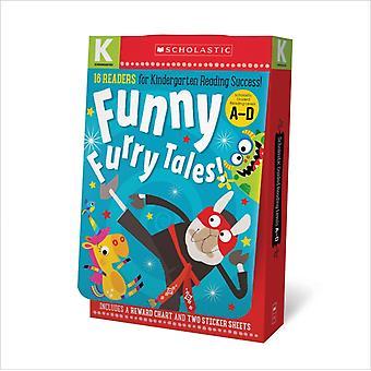 Dagis AD Reader box som Funny Furry Tales skolastiska tidiga elever av Scholastic