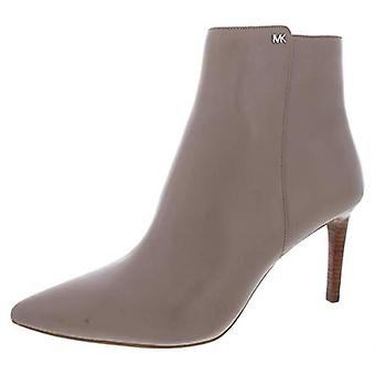 Michael Michael Kors Womens Dorothy Flex Leather Pointed Toe Booties