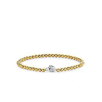 Ti Sento 2921SY bracelet - silver dor women's balls