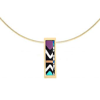 Necklace and pendant Christian Lacroix X46282D - necklace and pendant steel jewelry Rose Gold woman