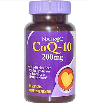 Co-Q10 200 mg (45 gelcapsules) - Natrol