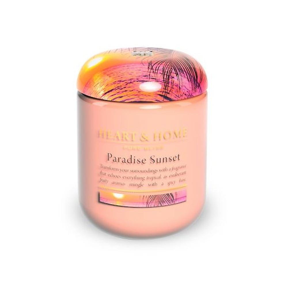Home Sweet Home Small Jar Candle Paradise Sunset