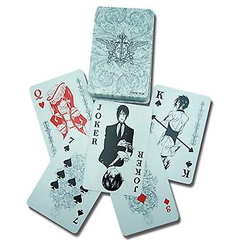Playing Card - Black Butler - New Poker Game Gifts Toys Anime Licensed ge2033