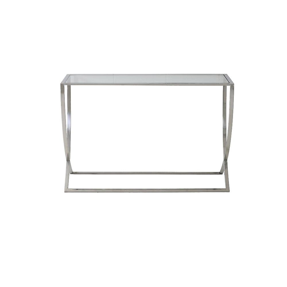Light & Living Console 120x40x80cm Molina Glass And Nickel