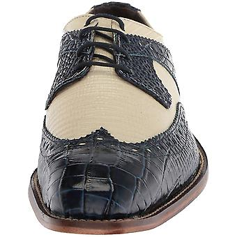 Stacy Adams Mens 25167-111 Leather Lace Up Casual Oxfords