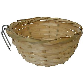 Tyrol Rattan Nest For Birds (Birds , Bird Cage Accessories , Nests and Complements)