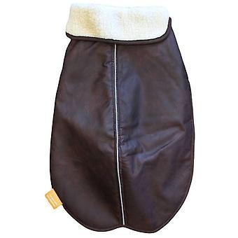 Alcott hund Traveler bombplan päls brun färg (hundar, hundkläder, rockar och uddar)