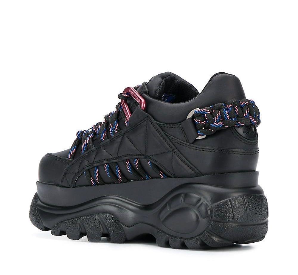 1352-14 Black Platform Sneakers