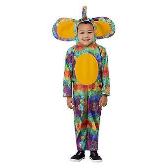 Kleinkinder bunte Elefant Fancy Kleid Kostüm